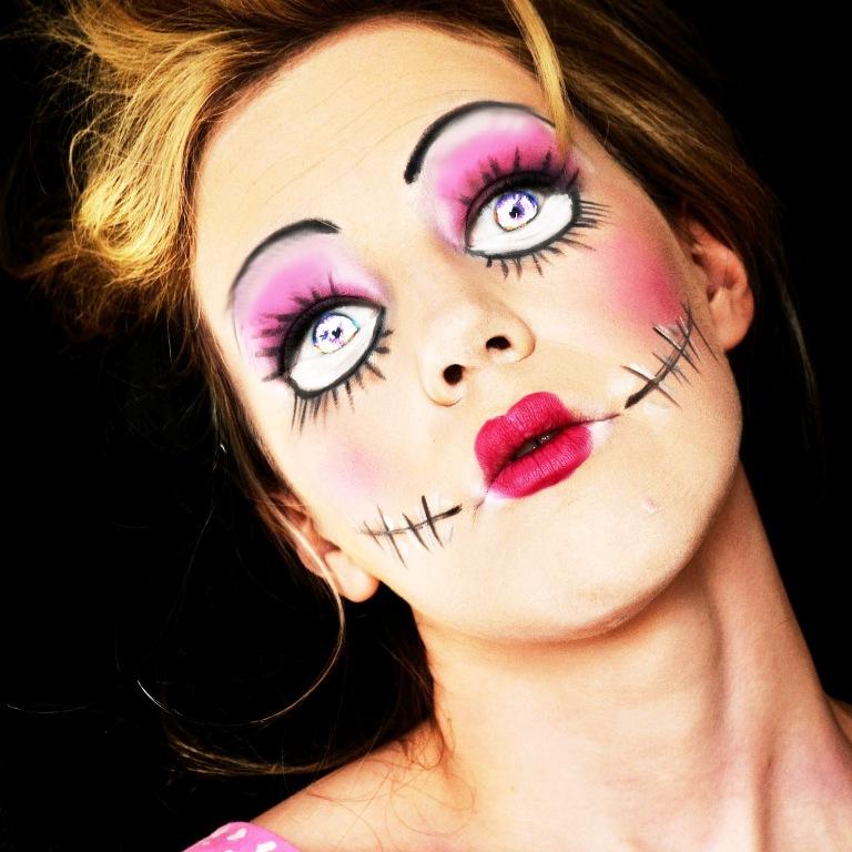 Образ куклы на хэллоуин