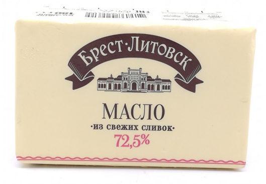 Сливочное масло «Белорусское» Брест-Литовск