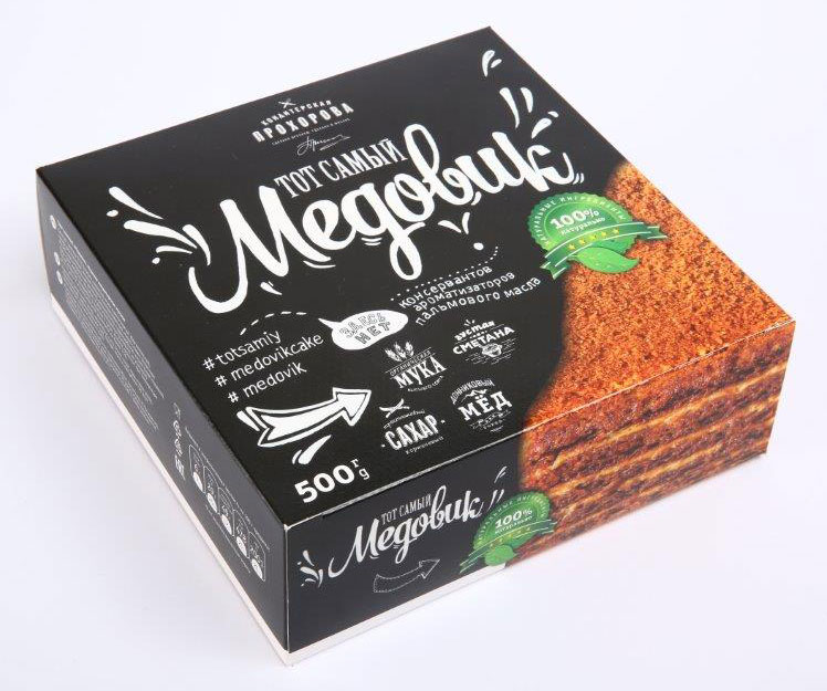 торт медовик Кондитерская Прохорова