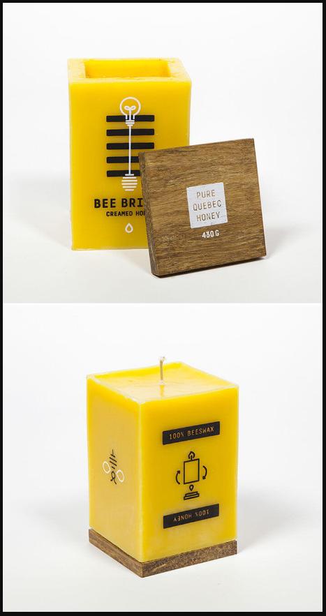 интересная упаковка меда