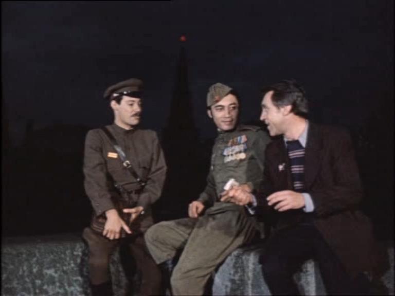 ночная встреча Шарапова и Жеглова