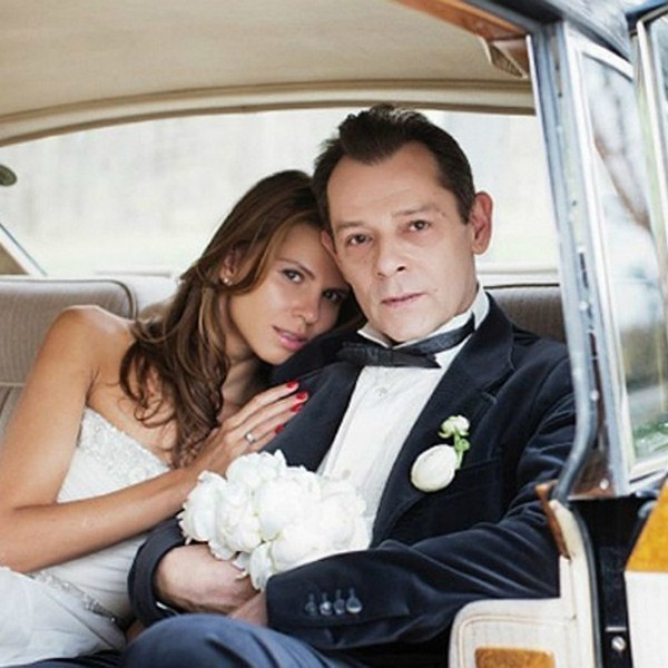 Козаченко с экс-супругой