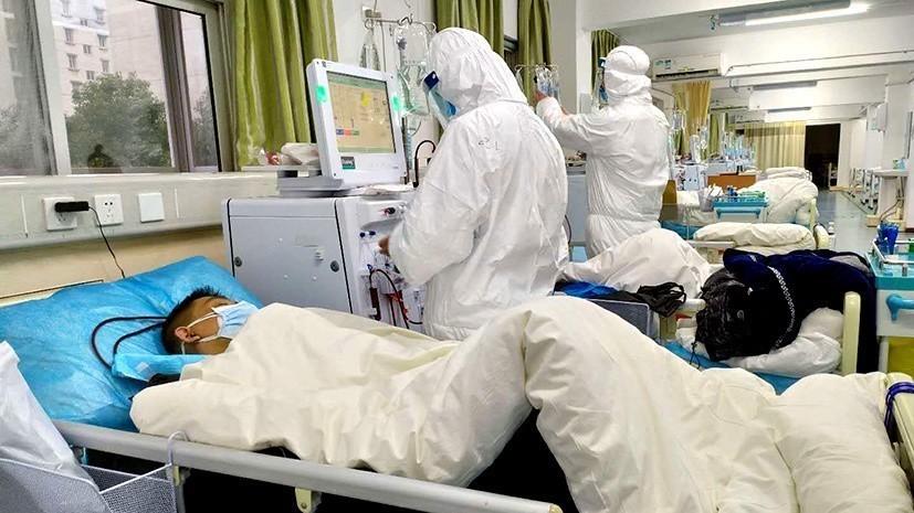 коронавирусные больные