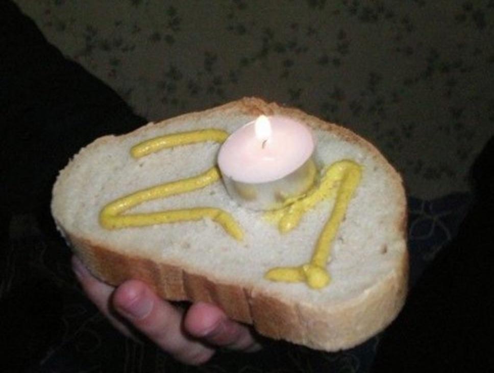 бутерброд на день рождения