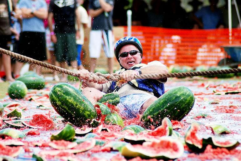 Арбузный фестиваль, Австралия