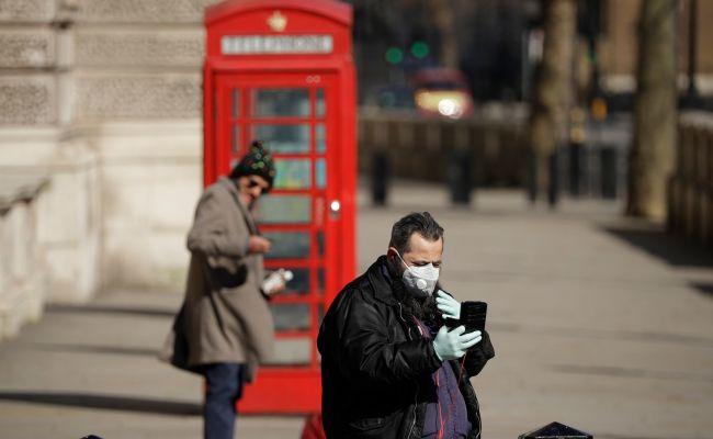 коронавирус Великобритания
