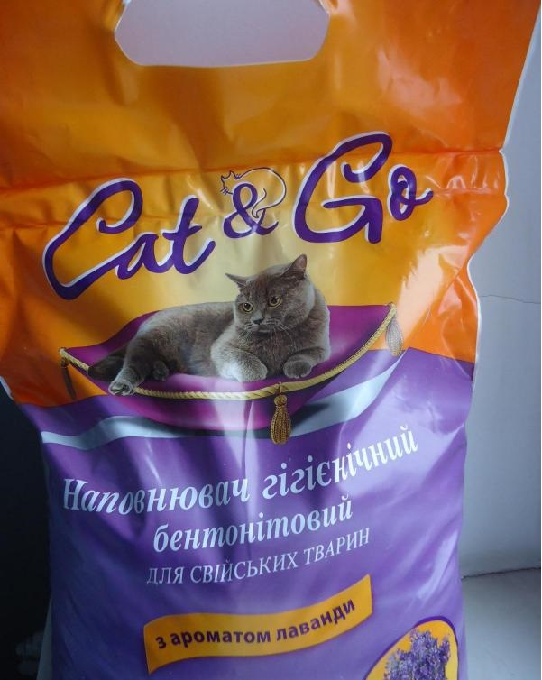 наполнитель для лотка Cat & go