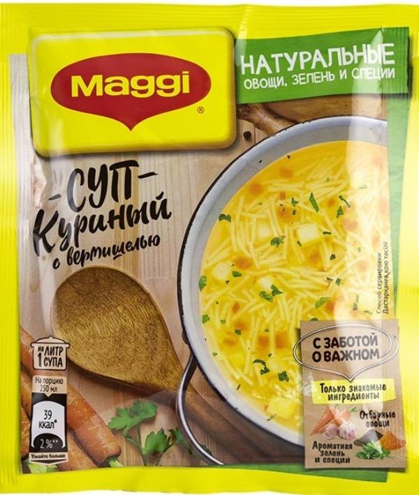 Суп куриный Maggi