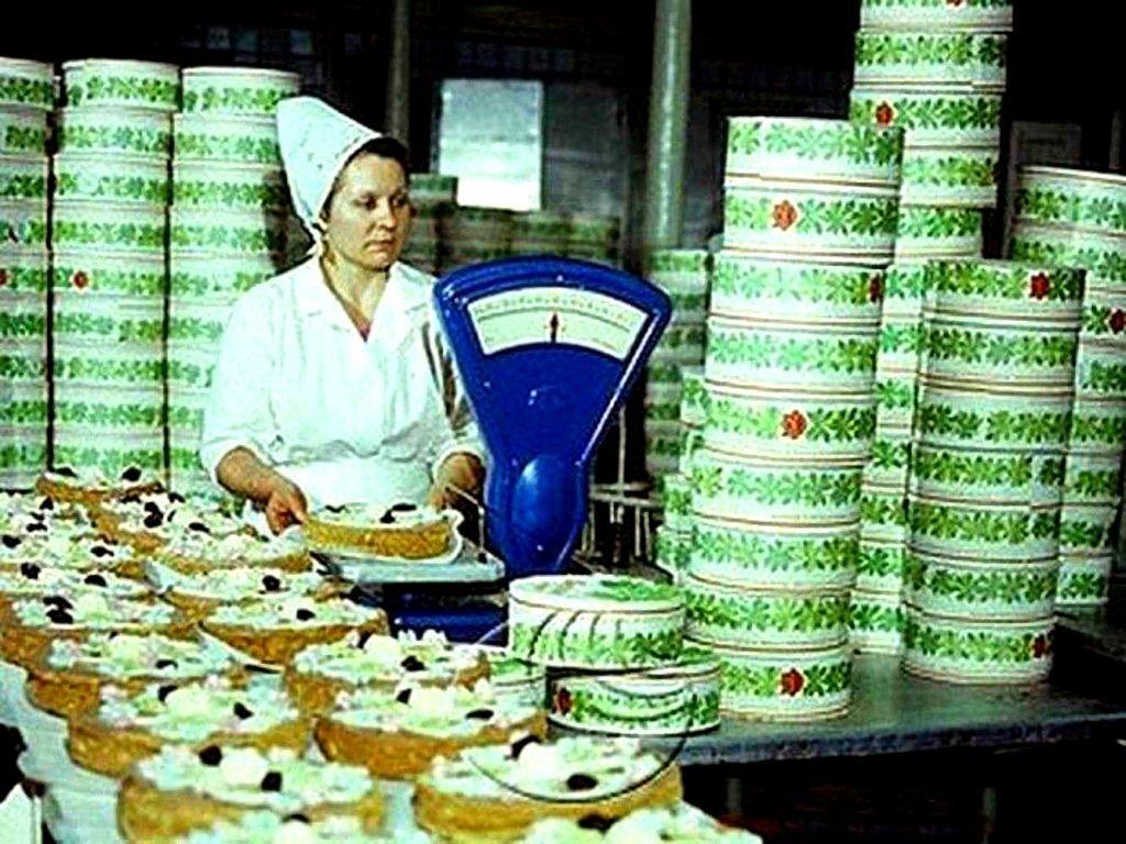 советские торты