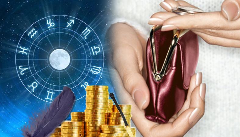 кошелек, монеты, знаки зодиака
