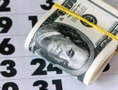 Доллары и календарь