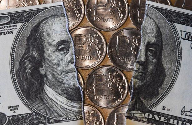 доллар и рубль