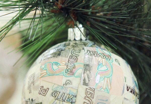 рубль новый год