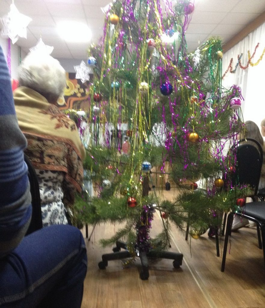 Мобильная елка