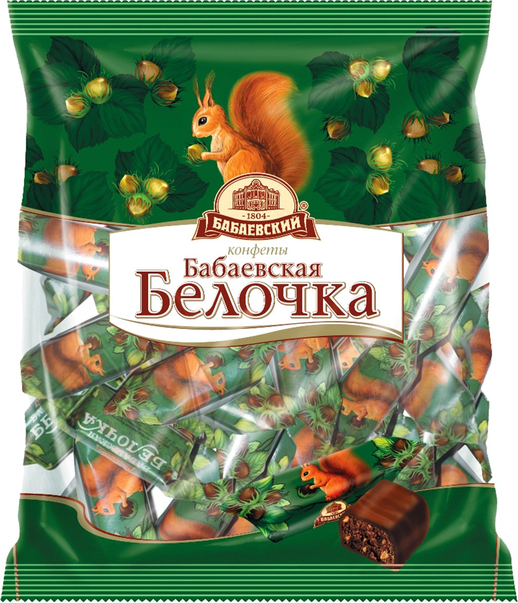 конфеты Бабаевская Белочка
