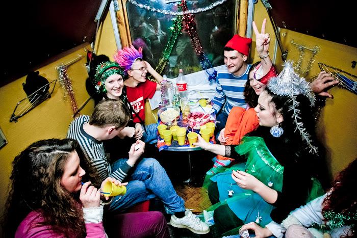 Новый год в поезде
