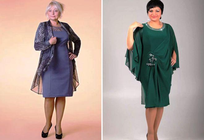 новогодние платья для женщин 50+