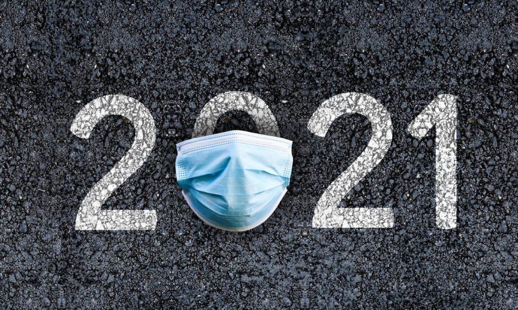 2021 год в маске