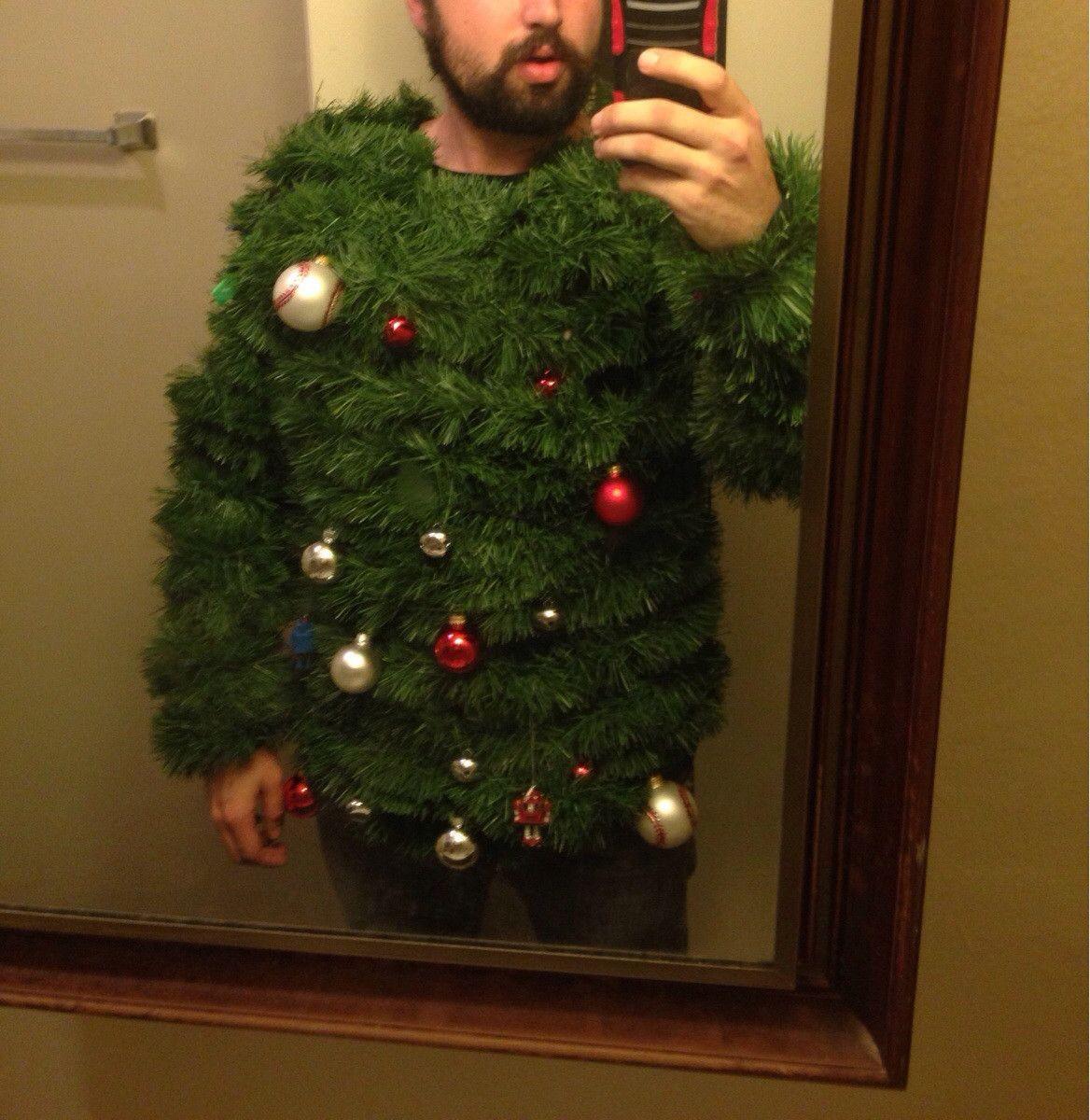 прикол свитер-елка