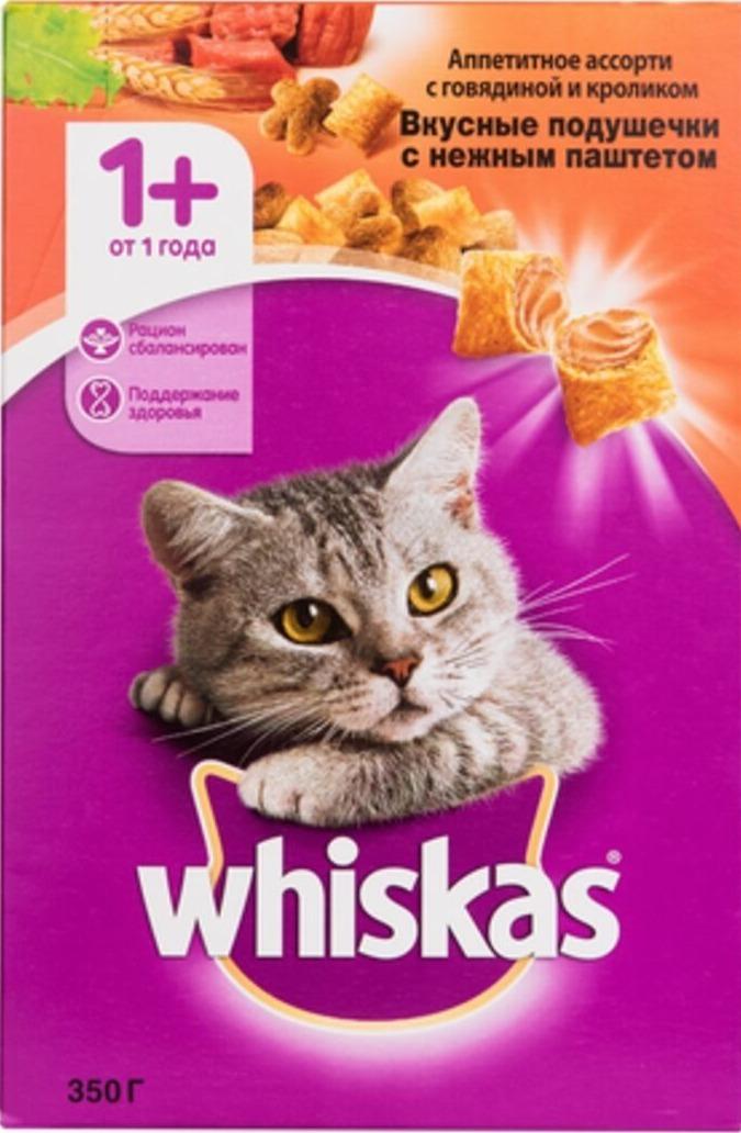 WHISKAS сухой кошачий корм