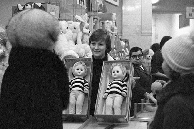 советский детский магазин