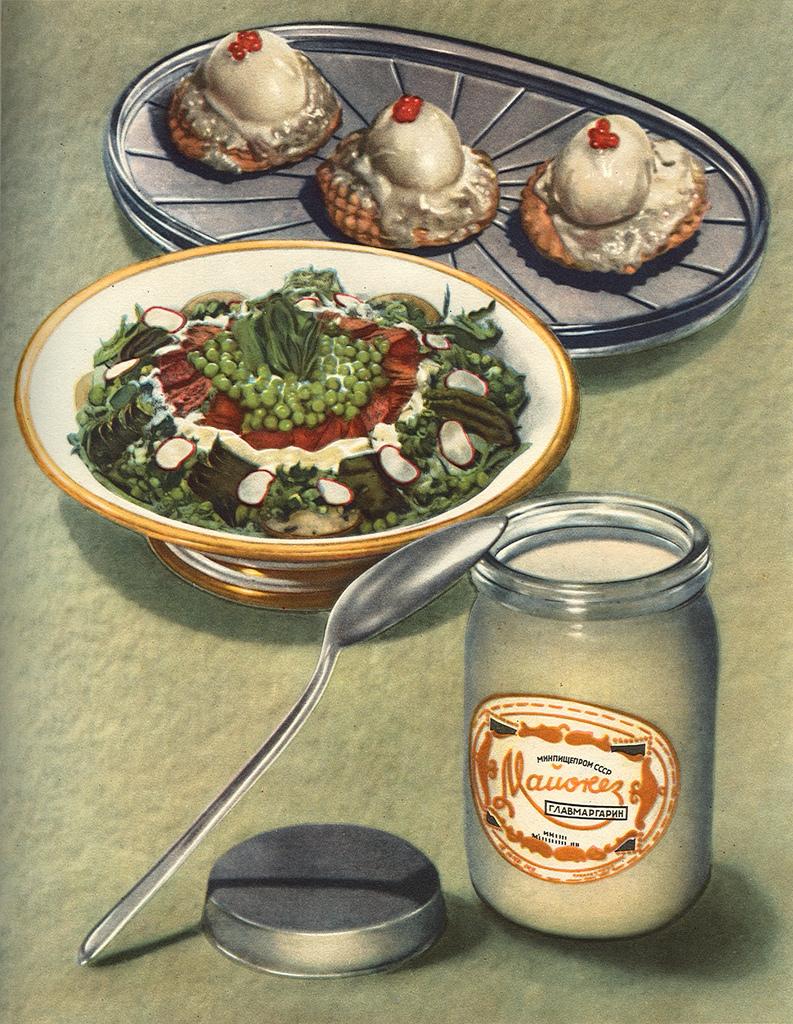 новогодние майонезные блюда