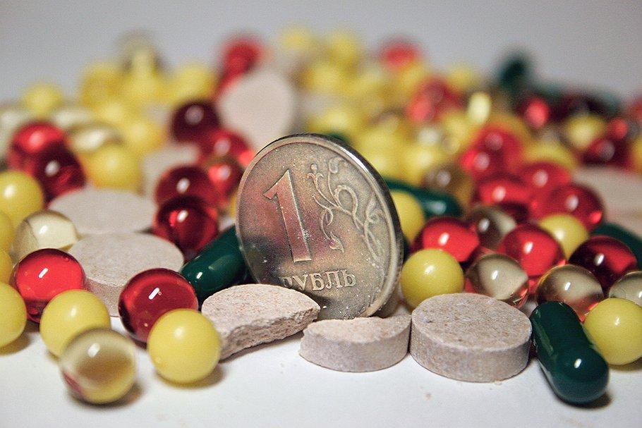 таблетки и рубль