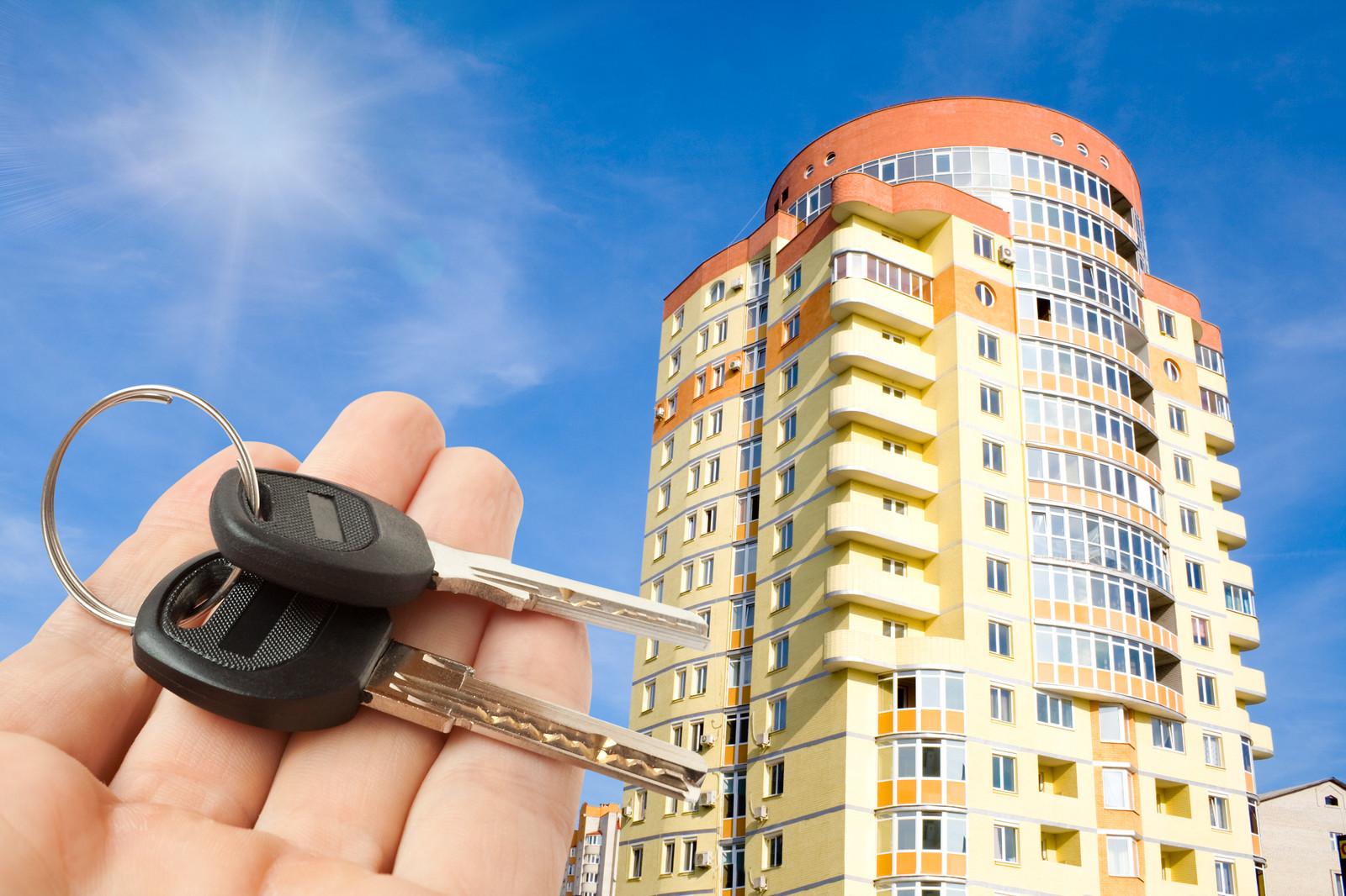 ключи от квартиры в новостройке