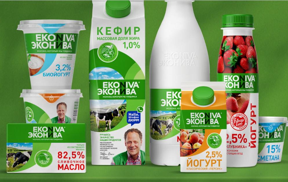 молочная продукция Эконива