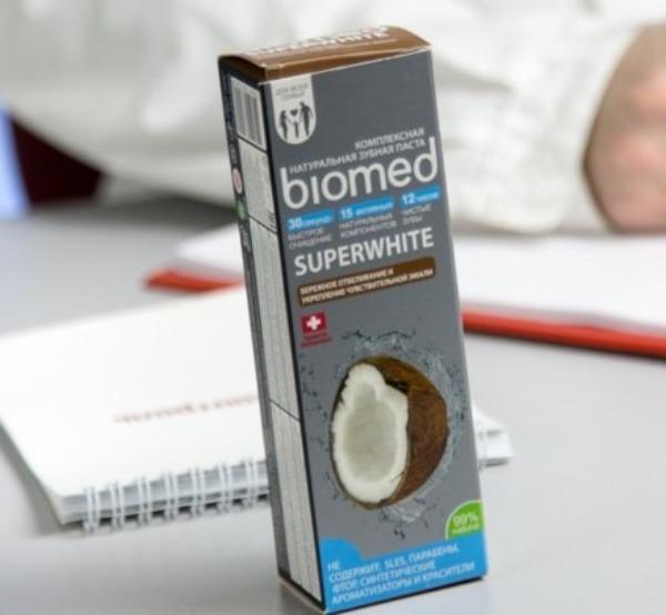 Зубная паста Biomed Superwhite