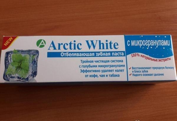 зубная паста Arctic White