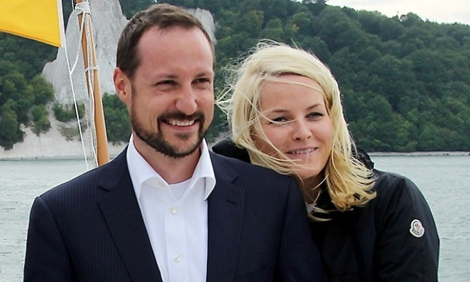 Норвежский принц и Метте-Марит