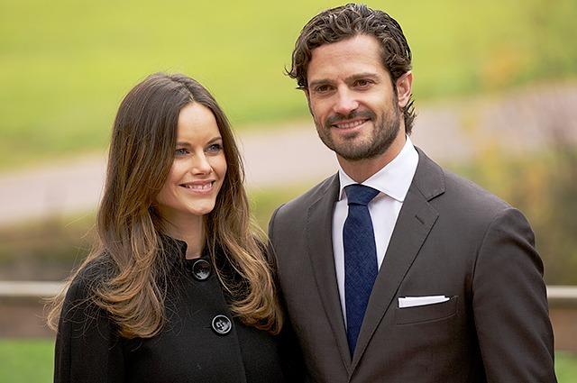 Карл Филипп и его жена София