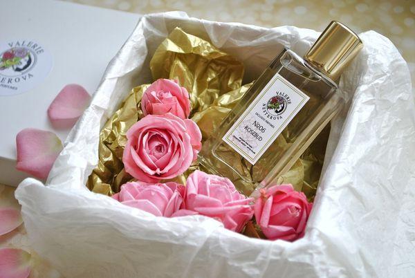 Розы и парфюм