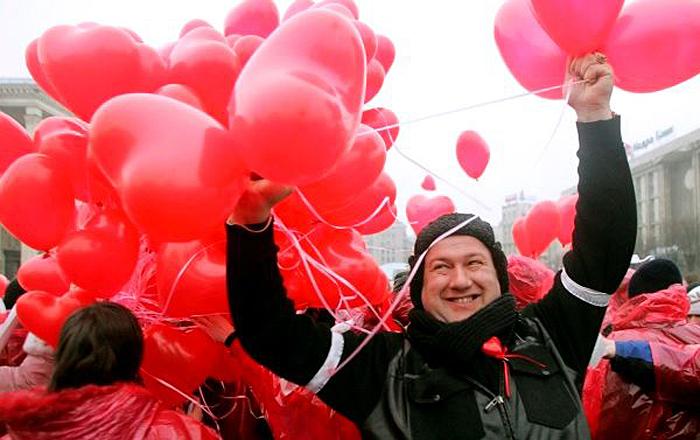 Российский день Валентина