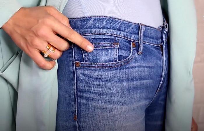 маленький кармашек на джинсах