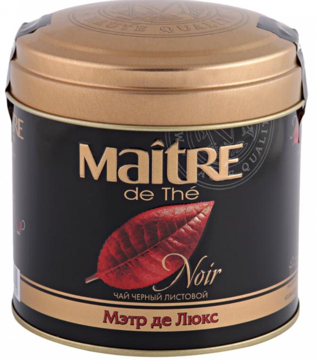 чай Maitre Мэтр Де Люкс