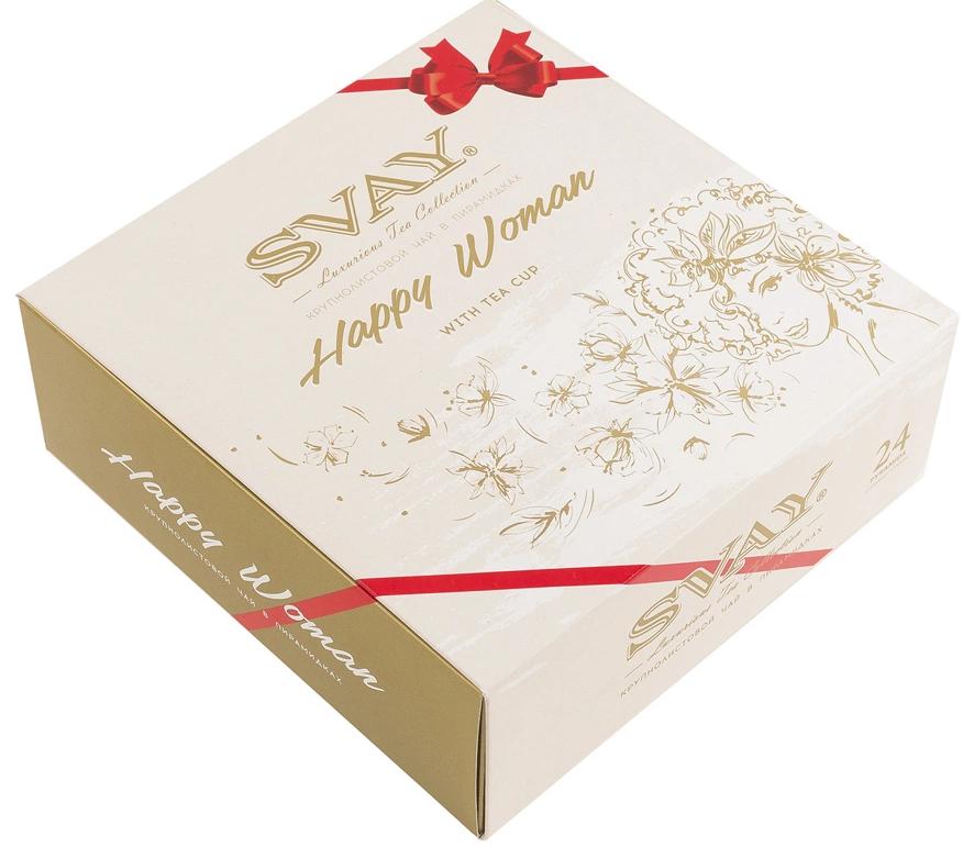 подарочный чай Happy Woman, Svay