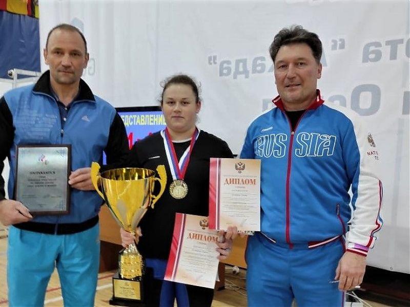 российская спортсменка