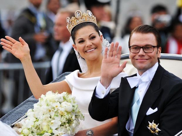 Шведская кронпринцесса Виктория и ее муж Даниель