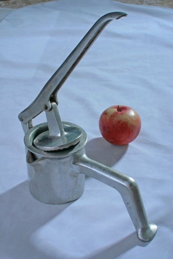 давилка для яблок