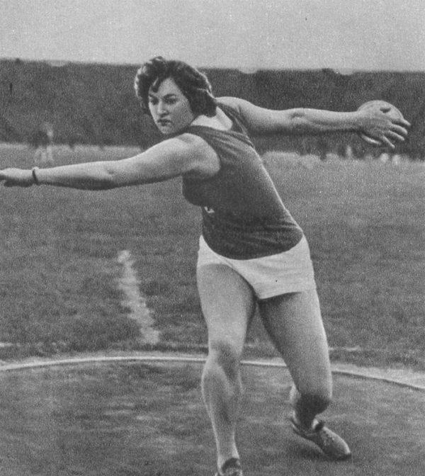 советская спортсменка
