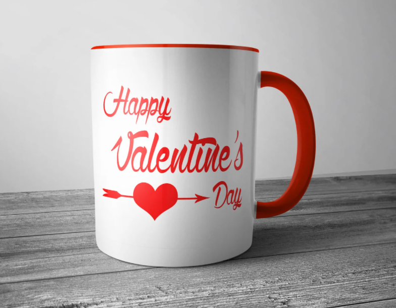 Кружка на День Валентина