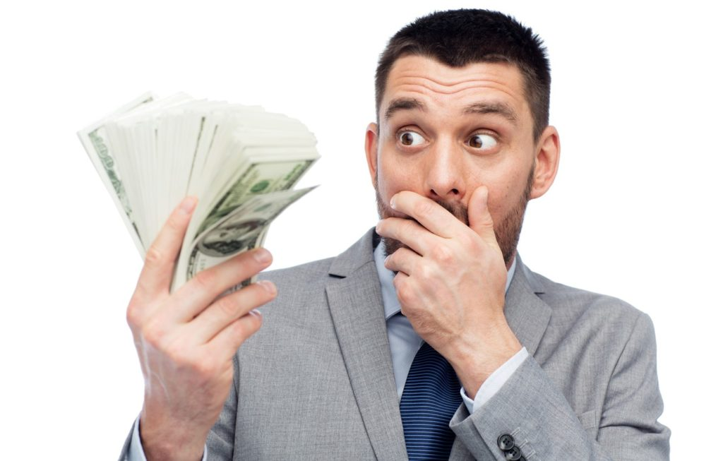 Деньги и удивление