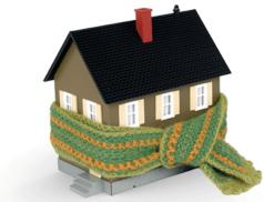 дом в шарфике