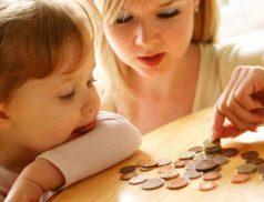 Женщина, ребенок и деньги