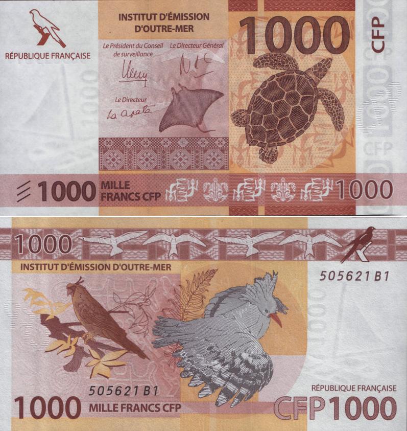 деньги Полинезии
