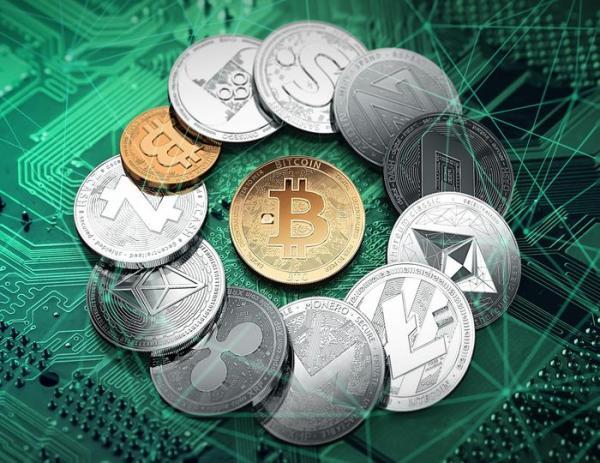 Разные криптовалюты вокруг биткоина