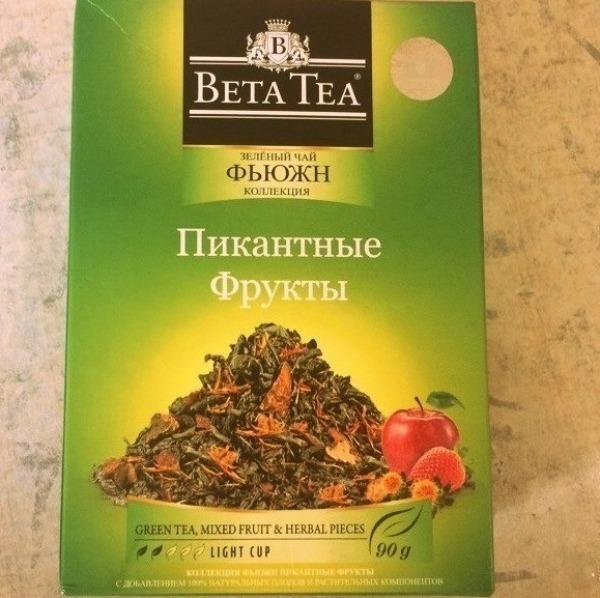 чай Beta Tea Пикантные фрукты