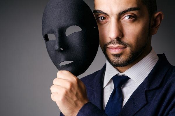 человек и маска